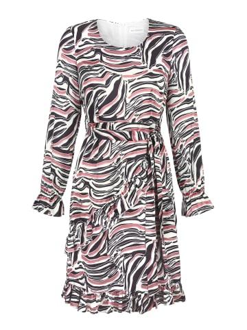 AMY VERMONT Kleid in Schwarz,Off-white