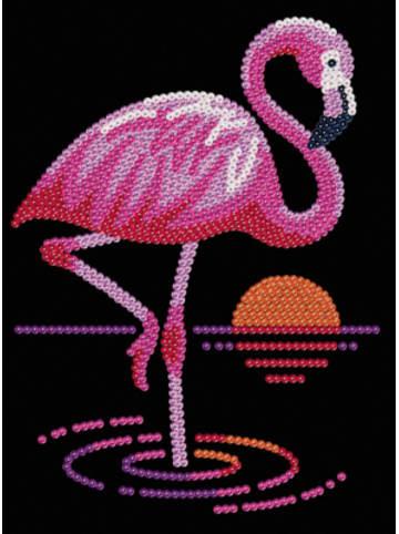 MAMMUT Spiel und Geschenk Sequin Art Flamingo