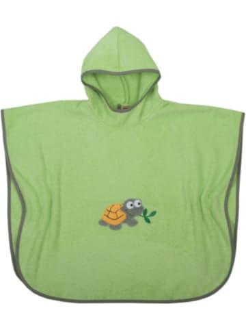 Boofle Badeponcho Schildkröte, grün, 75x120 cm