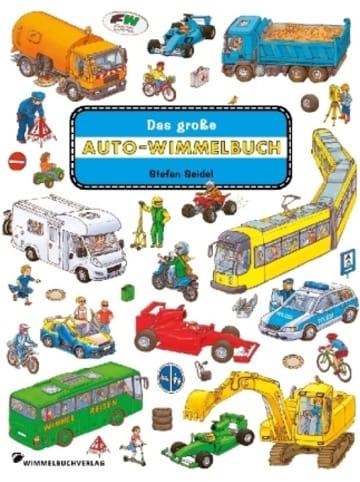 Wimmelbuchverlag Das große Auto Wimmelbuch