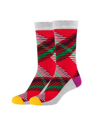 Fun Socks Socken im 2er Pack in red