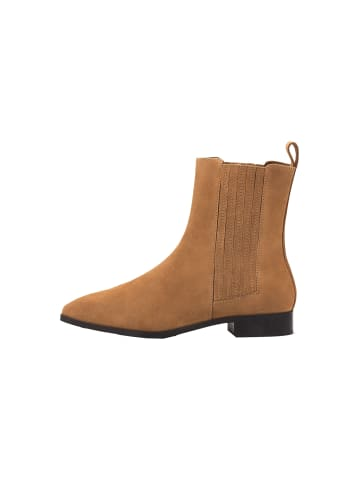 Another A Stiefeletten Velours-Chelsea-Boots in braun-mittel