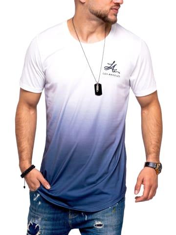 Behype T-Shirt LA in weiß