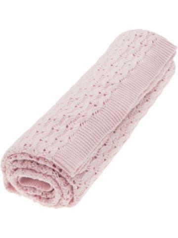 "Vinter & Bloom Grace Decke ÖKO ""Pink Sunset"""