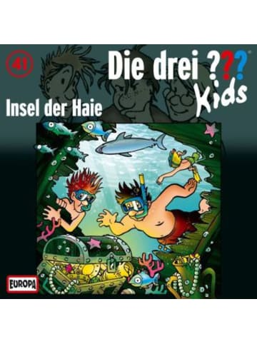 United Soft Media Die drei ???-Kids - Insel der Haie, 1 Audio-CD