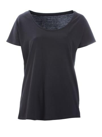 "FRIEDA SAND Organic T-Shirt ""Rosa"" in schwarz"