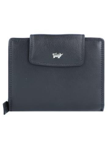 Braun Büffel Golf Edition Geldbörse Leder 12 cm in schwarz