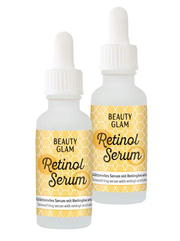 BEAUTY GLAM Gesichtsserum Beauty Glam Retinol Serum (2er Pack) in gold