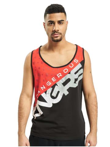 DNGRS Dangerous Basic Tank Top Oberteil Shirt in Rot