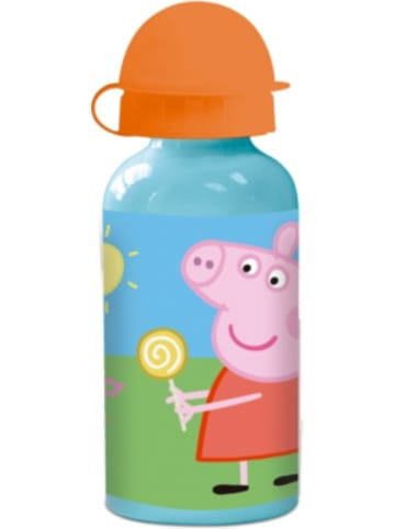 P:os Alu-Trinkflasche Peppa Pig, 400 ml