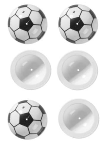 ERFURTH Scherzartikel GmbH Fußball-Popper, 8 Stück