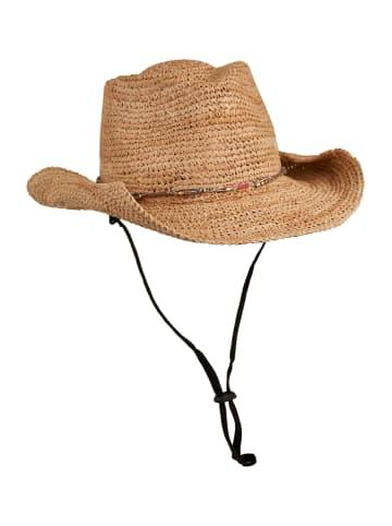 Loevenich Raffia Cowboyhut in Beige