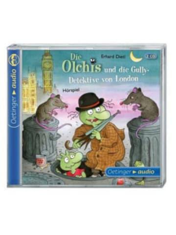 Die Olchis Die Olchis und die Gully-Detektive von London, 2 Audio-CDs