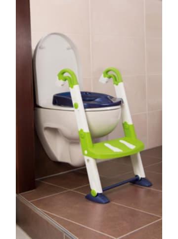 Kids Kit Toilettentrainer 3 in 1, perl blue / weiß / translucent limette