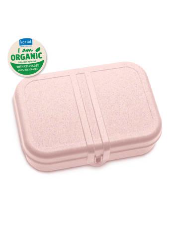Koziol ORGANIC PASCAL L - Lunchbox mit Trennsteg in organic pink