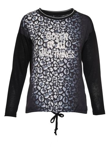 Decay Langarmshirt in schwarz