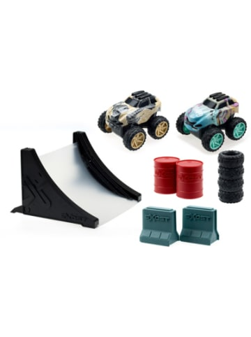 EXost Shox Mega Stunt Pack Friction Car Deluxe Spielset - SUV 1