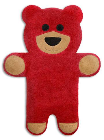 """Leschi Wärmekissen """"Bär Teddy"""" in rot"""