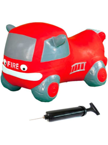 Jamara Hüpfauto Fire truck mit Pumpe