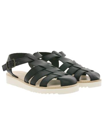 KAVAT Sandale in Schwarz