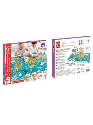 Toynamics Europe Puzzle und Spiel 2 in 1 Weltreise