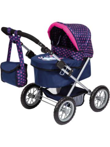 MyToys-COLLECTION Puppenwagen Trendy, Elefanten Motiv, blau/pink von Bayer