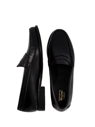G.H. Bass & Co. Loafer Weejuns Penny in Black Leather
