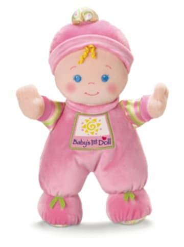 Mattel Fisher-Price Meine erste Puppe, Baby-Spielzeug für Neugeborene, Stoffpuppe