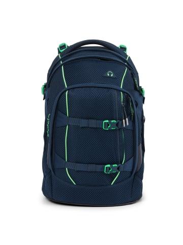 Satch pack Schulrucksack 45 cm Laptopfach in dark blue green