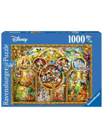 Ravensburger Ravensburger 1000 Teile Puzzle: Die schönsten Disney Themen