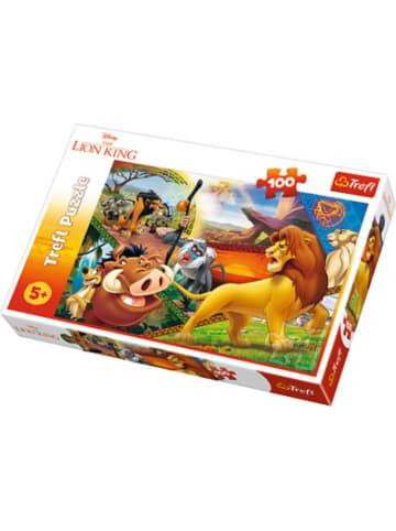 Trefl Puzzle 100 Teile - Der König der Löwen