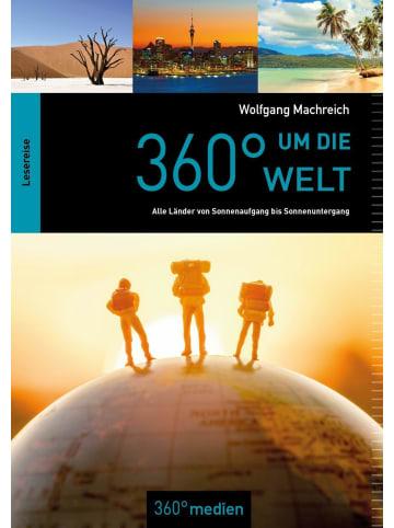 360 grad 360° um die Welt | Alle Länder von Sonnenaufgang bis Sonnenuntergang