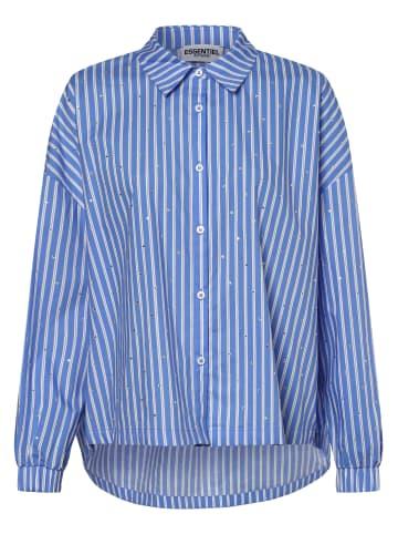 Essentiel Antwerp Bluse in blau weiß