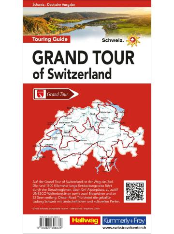 Hallwag-Verlag Grand Tour of Switzerland Touring Guide Deutsch | 1600 km auf der...