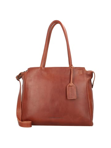 Cowboysbag Evi Schultertasche Leder 41 cm Laptopfach in cognac