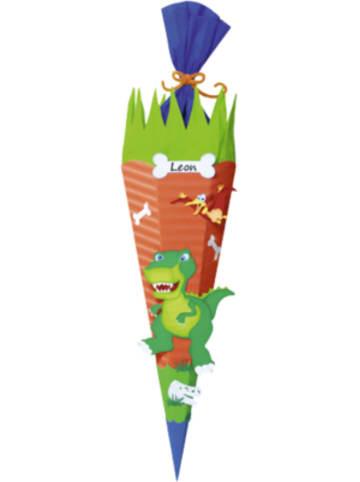 URSUS Bastelset Schultüte Dinosaurier