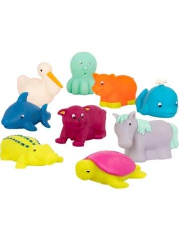 B.toys Badetiere 9-tlg. Set : Oktopus, Wal, Hai, Pelikan, Krokodil, Schildkröte,...