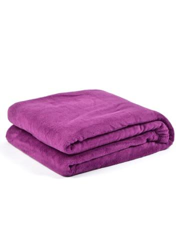 "Pink Papaya Kuscheldecke "" Snug Me Soft-Coral Fleece Seastar Edition "" in lila"