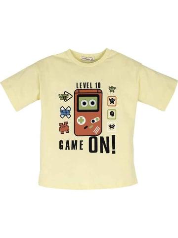 Mamino Kindermode Jungen T-Shirt -game on in gelb
