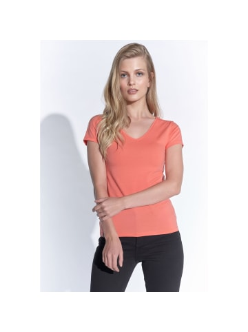 Course Elements Basic-Shirt in koralle