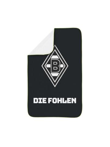 Borussia Mönchengladbach Sporthandtuch in Schwarz / Weiß / Grün
