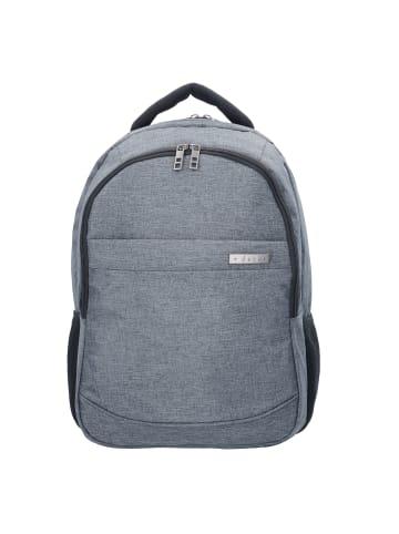D&N Bags & More Rucksack 46 cm Laptopfach in grau