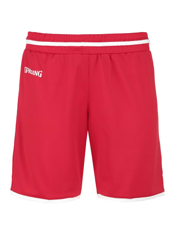 Spalding Shorts Move in rot / weiß