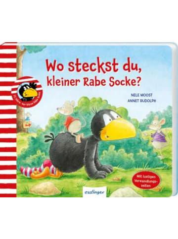 Esslinger Der kleine Rabe Socke: Wo steckst du, kleiner Rabe Socke?