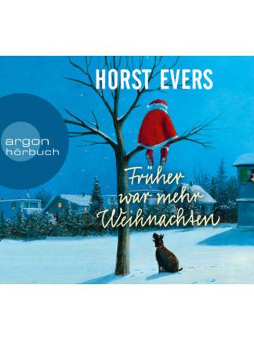 Argon Früher war mehr Weihnachten, 1 Audio-CD