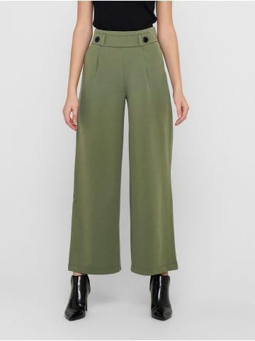 JACQUELINE de YONG Marlene Hose Schlupf Stoffhose GEGGO New Long Culotte Flare Pants in Olive