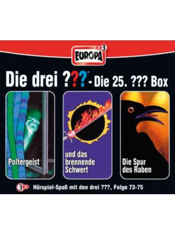 Sony CD Die Drei ??? 25 - 3er Box - Folgen 73 - 75