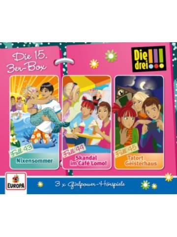 Sony CD Die drei !!! 15 3er CD-Box (Folgen 43,44,45)