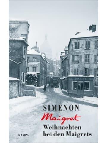 Kampa Verlag Weihnachten bei den Maigrets