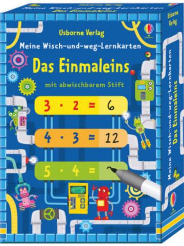 Usborne Meine Wisch-und-weg-Lernkarten: Das Einmaleins